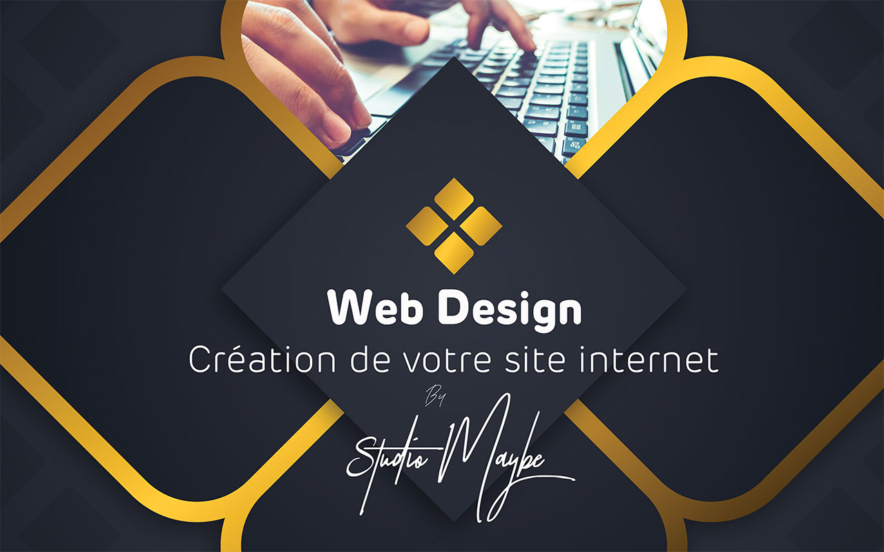 Création de site internet by Studio Maybe